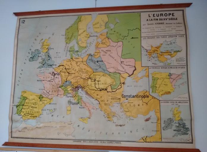 Europa sigo XV