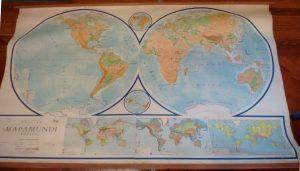 Mapa Mundi Físico