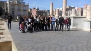 Otra vista del teatro Romano