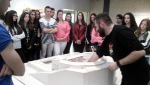 En el Museo del Teatro Romano