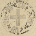 Mapa interactivo de Almería 1864