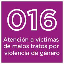 016 – Atenció a víctimes de maltractament per violència de gènere
